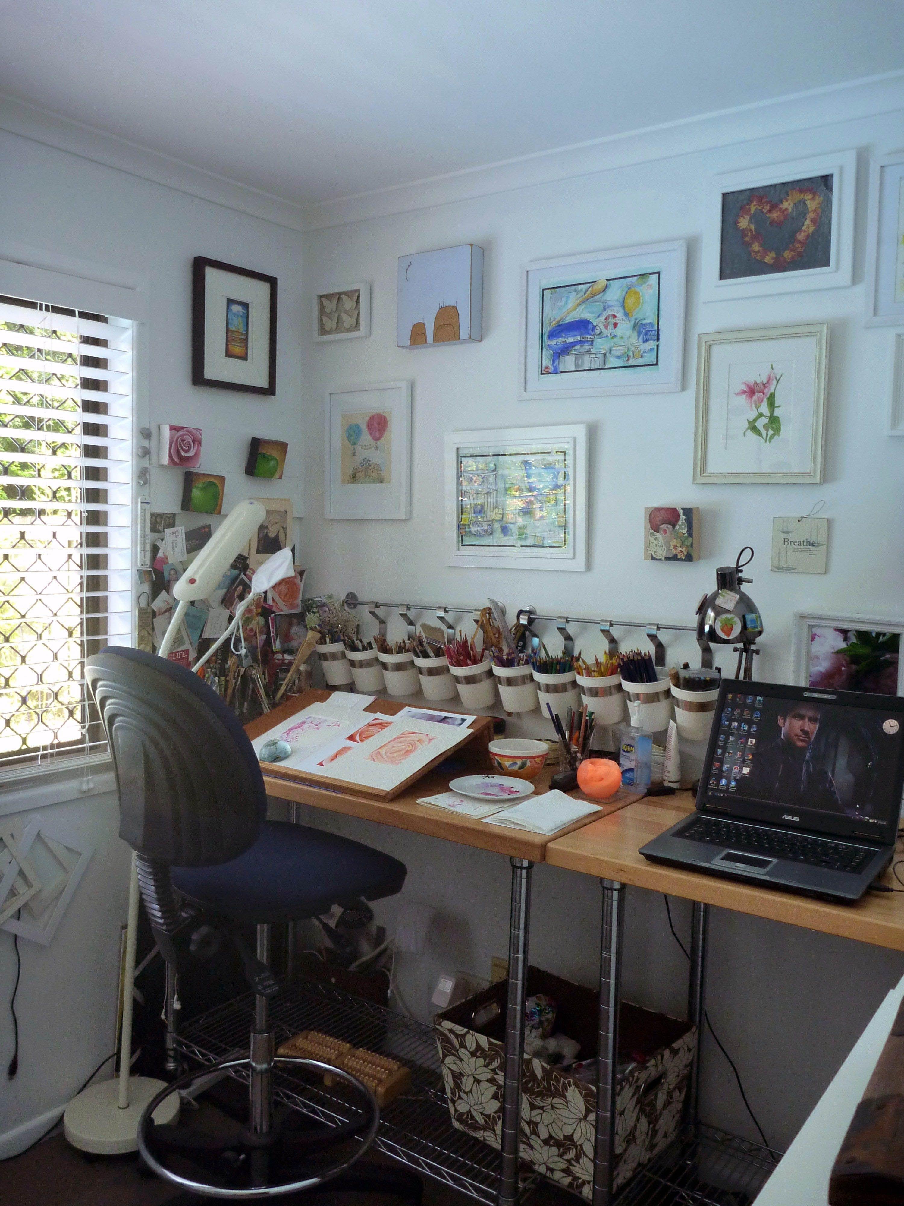 Beautiful Cool Bedroom Organization Ideas Only On This Page Creative Arts Studio Art Studio At Home Art Studio Storage