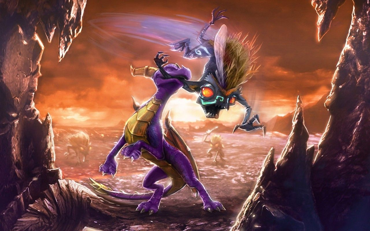 This Poster Is My Favorite Spyro Dawn Of The Dragon Artwork Of