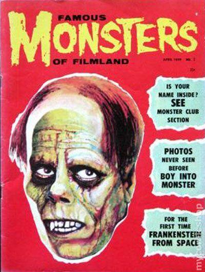 Famous Monsters of Filmland Magazine #3