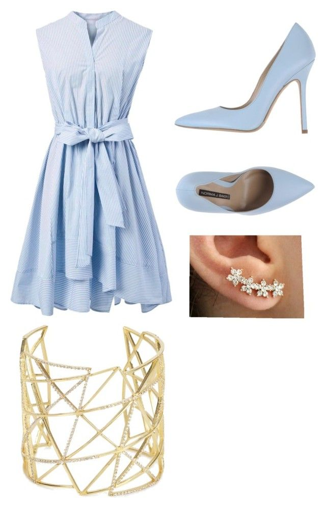 """""""Blue or new"""" by projectalice5 on Polyvore featuring Chicwish, Norma J.Baker and Joanna Laura Constantine"""