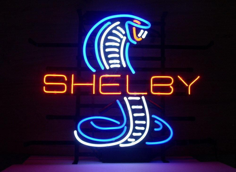 Shelby Cobra Neon Sign Neon Signs Neon Light Signs Neon Lighting