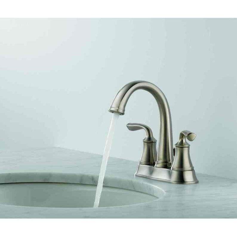 $144 Shop Delta Faucet DELTA Lorain Brilliance Stainless 2-Handle 4 ...