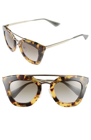 f65414b771ae ... inexpensive prada 49mm cat eye sunglasses available at nordstrom 73003  e808d ...