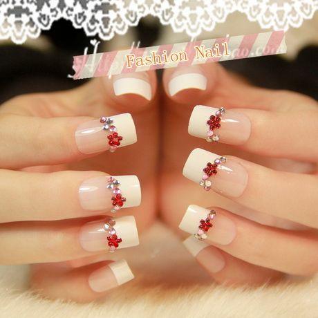 christmas acrylic nail designs  christmas nails acrylic