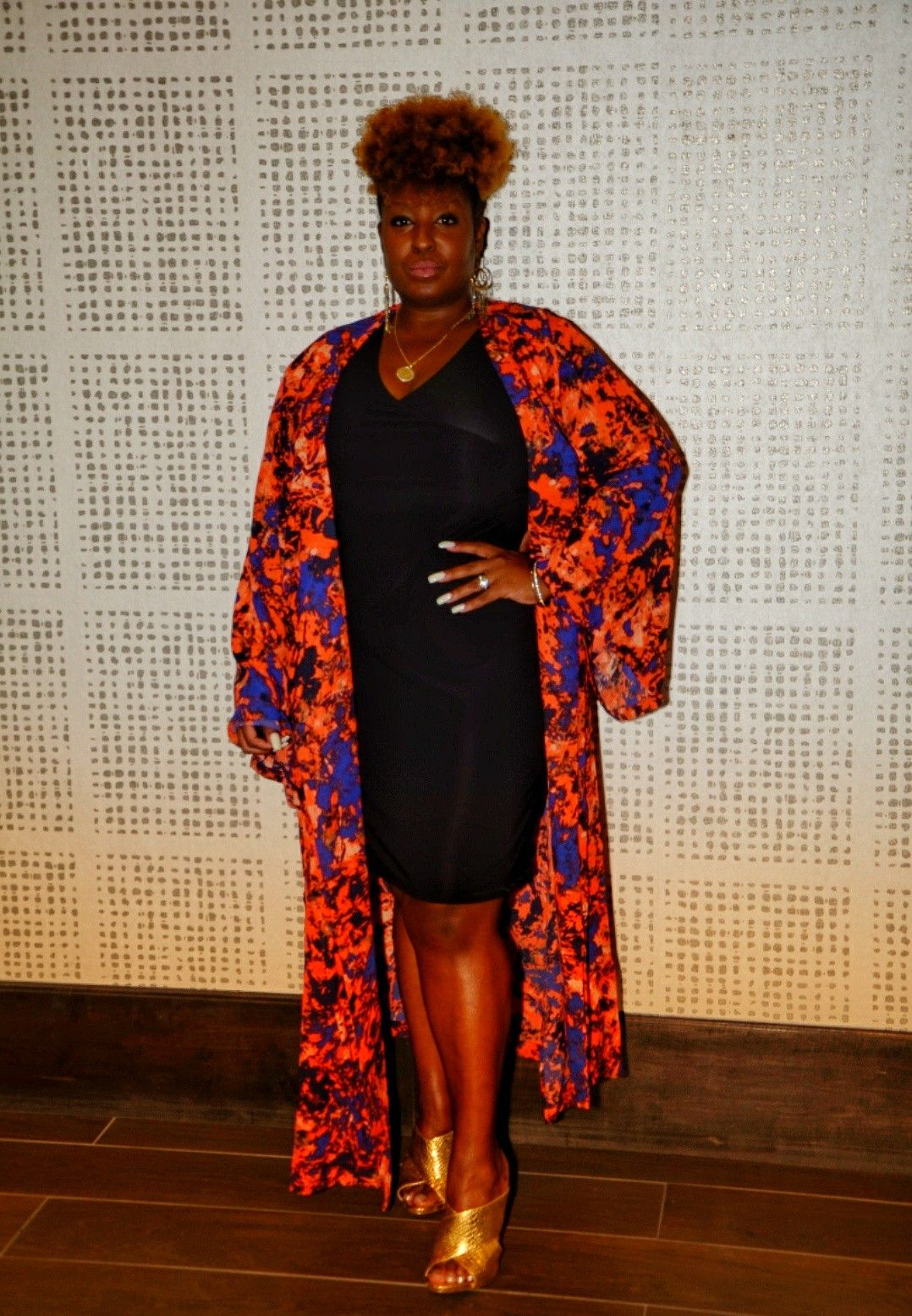 Phoenix Duster By Shavonne Dorsey In 2020 Fashion Fashion Design Warm Colors