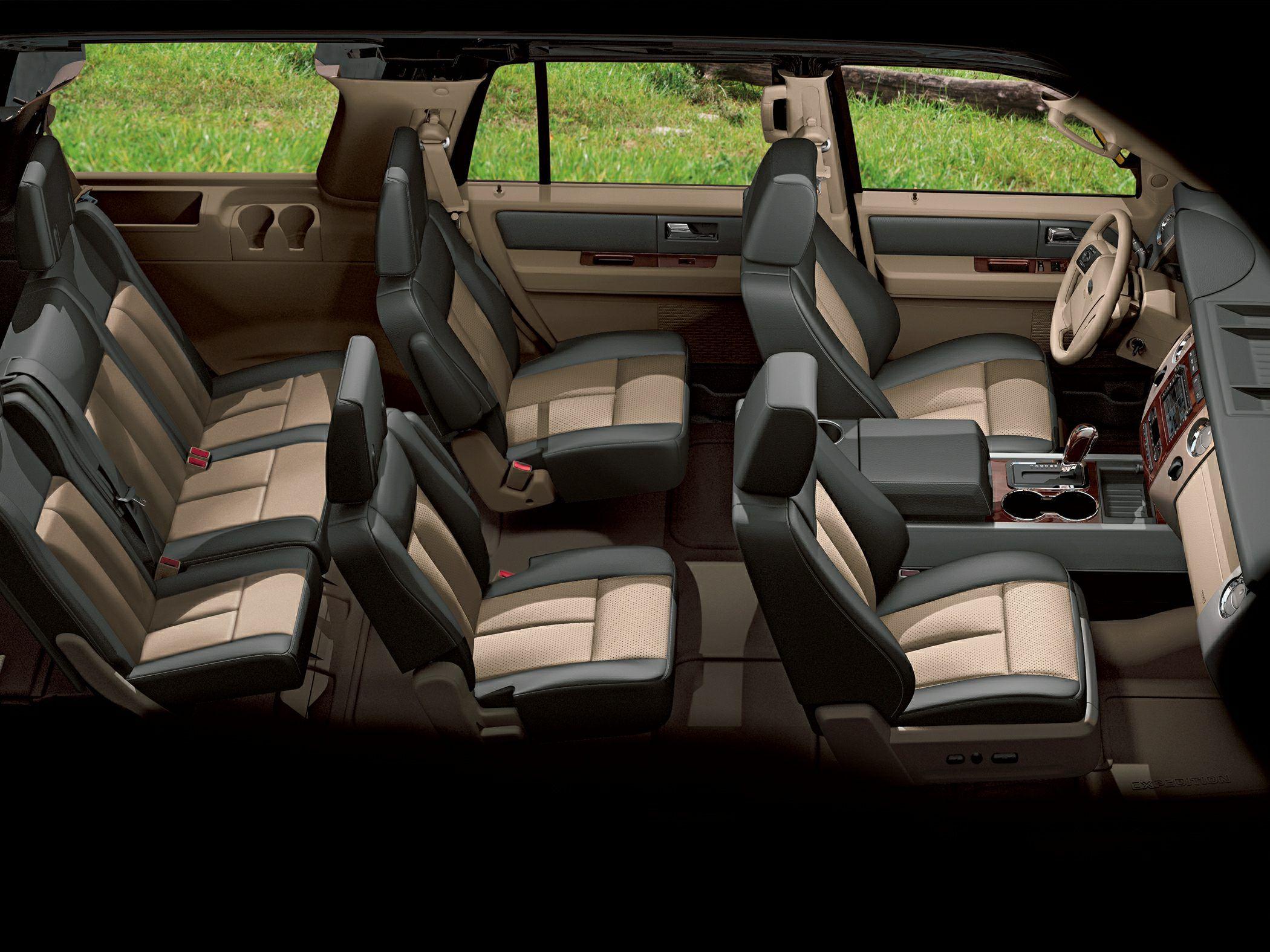 Suvs comfortably seat 7 passengers