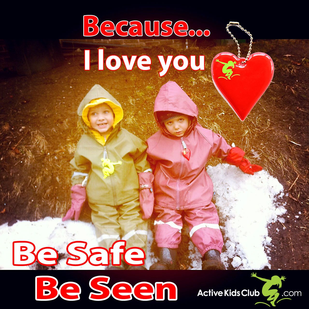 Gift for Valentine's Day safety reflectors (With images