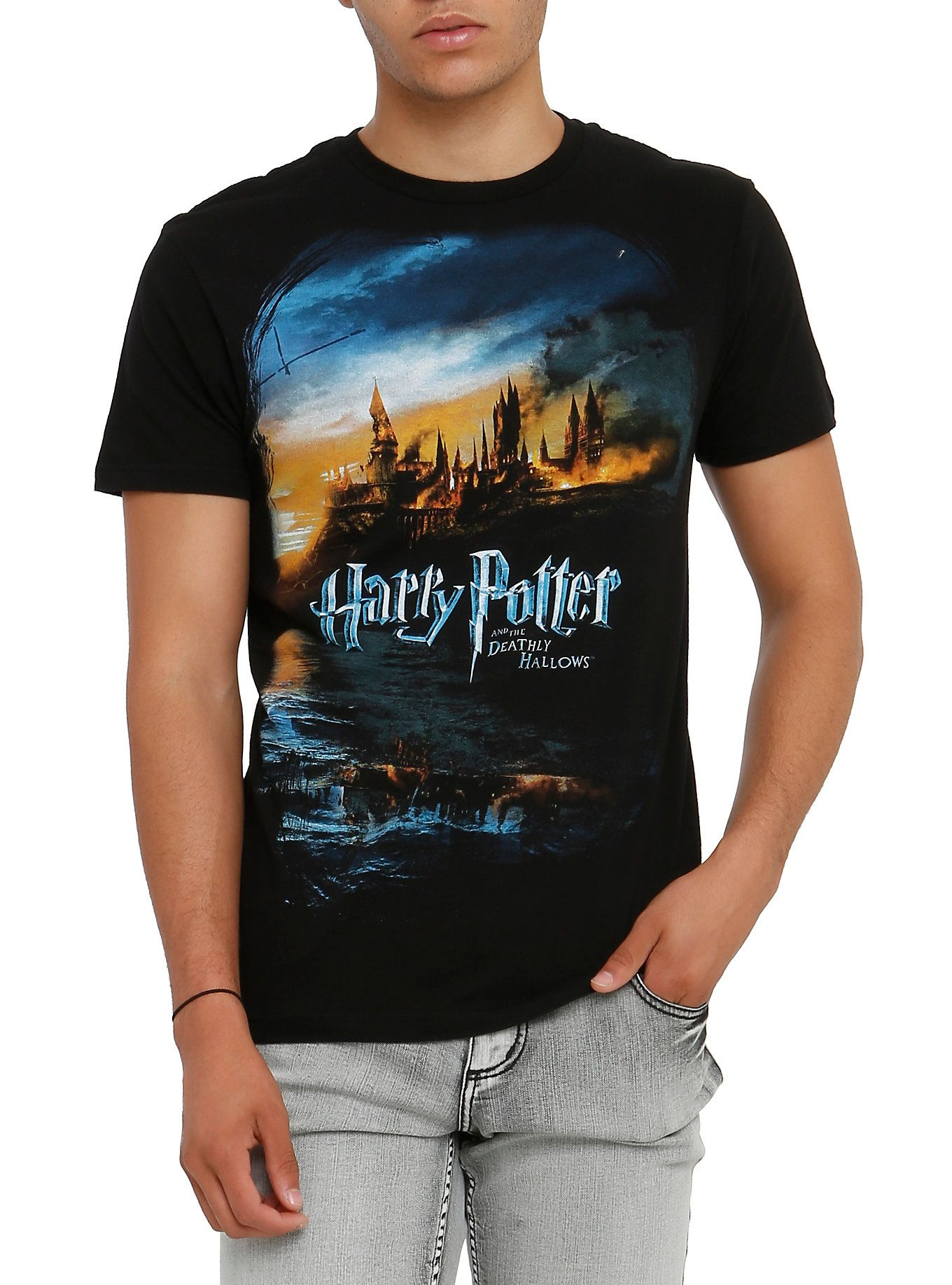Harry potter and the deathly hallows tshirt shirts