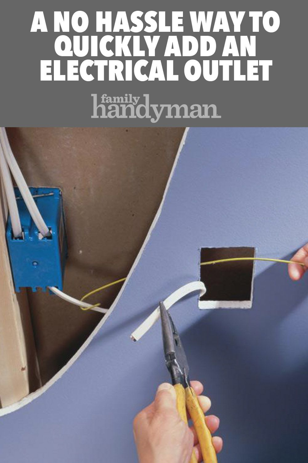 A No Hassle Way to Quickly Add an Electrical Outlet