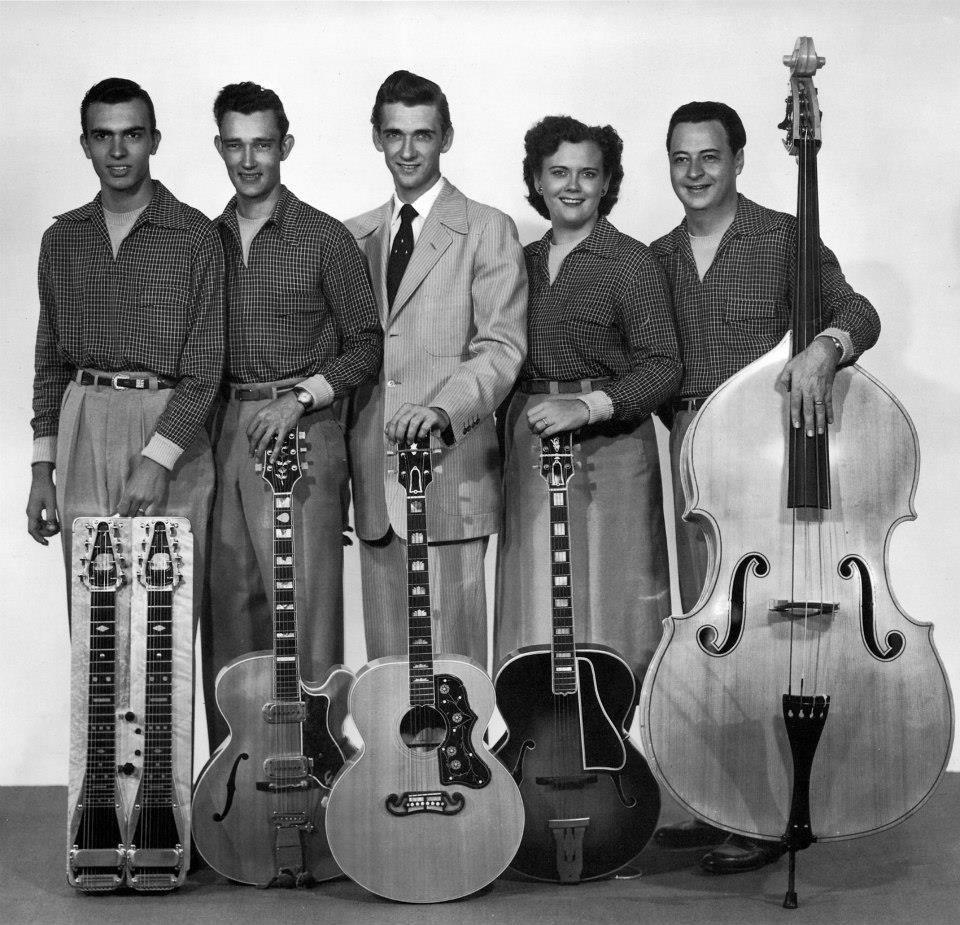 Carl Smith band, circa 1953. — with Carl Smith, Suzi Burgher Payne ...