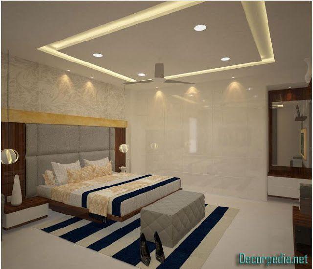 Pop Design For Bedroom Pop False Ceiling Design For Bedroom 2019 With Lighting Ideas Ceiling Design Bedroom Bedroom False Ceiling Design False Ceiling Design