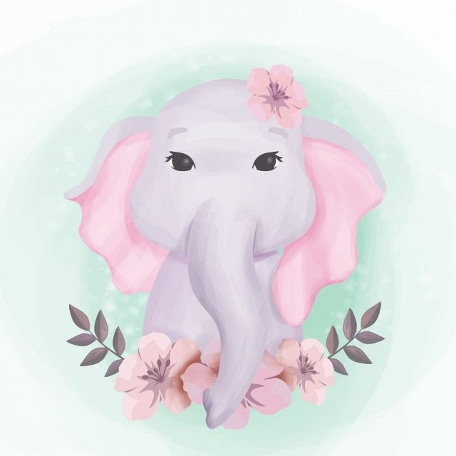Baby Elephant Cute Portrait Illustration Adorable Animal Art Png And Vector With Transparent Background For Free Download Portrait Illustration Cute Baby Elephant Watercolor Elephant Download free baby elephant vectors and other types of baby elephant graphics and clipart at freevector.com! pinterest