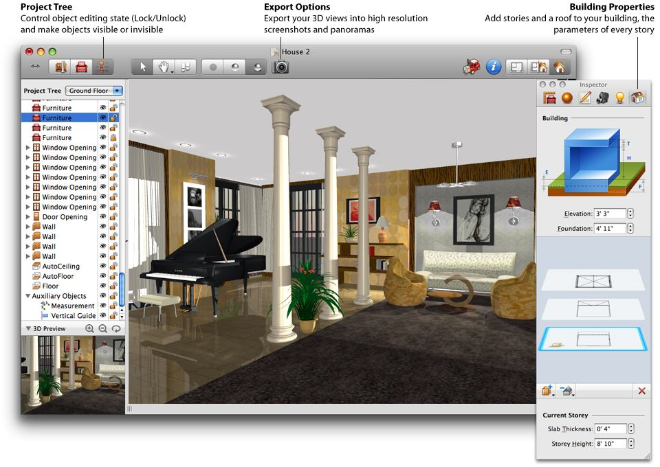 Painting Of Design Your Own Home Using Best House Design Software