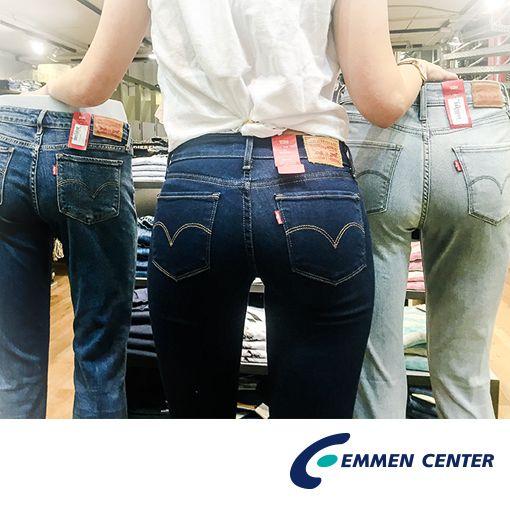 Die perfekt sitzende Jeans für jede Figur gibt es für Frauen und Männer bei World of Jeans im Emmen Center.
