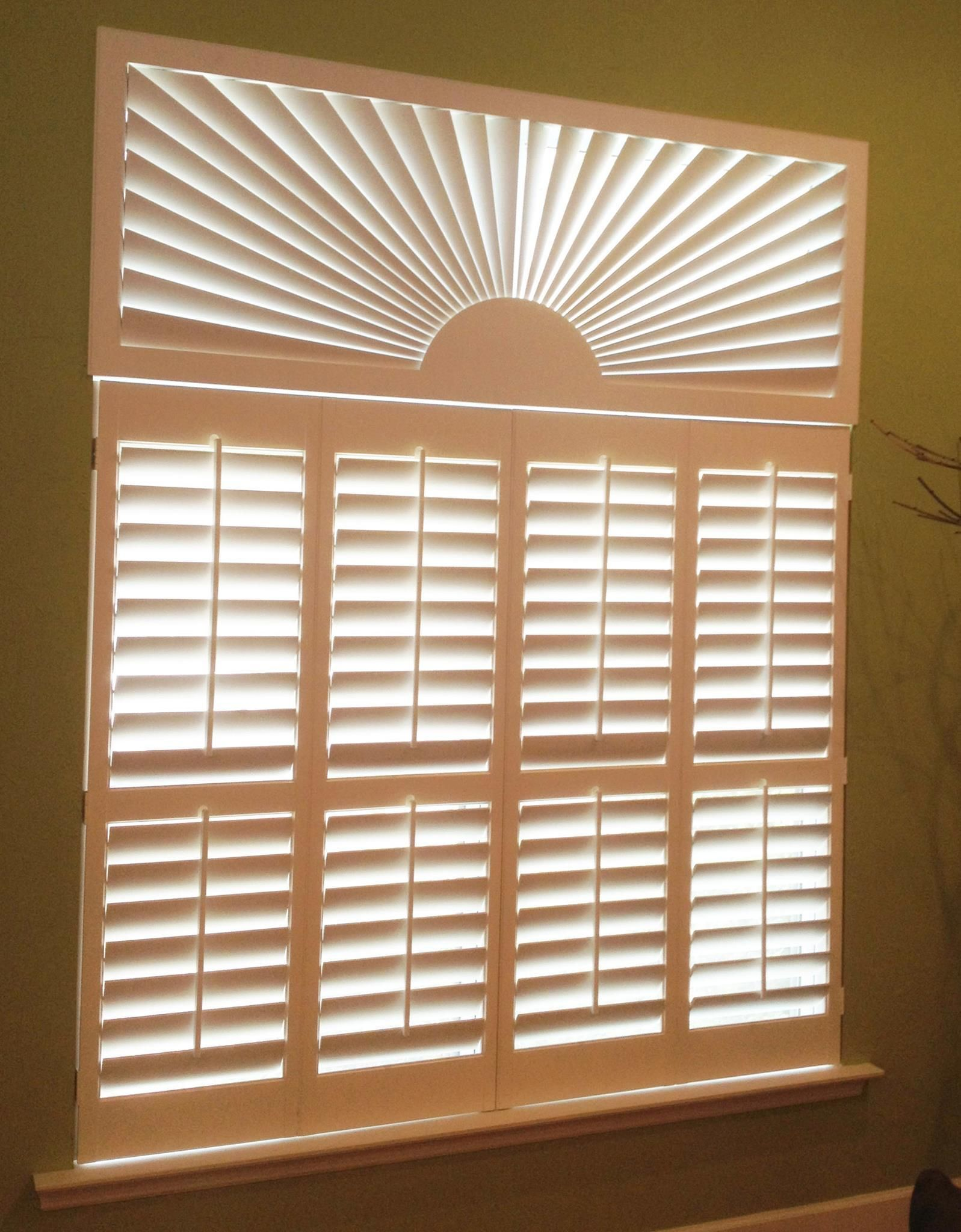 Any shape any style our plantation shutters are custom made for your