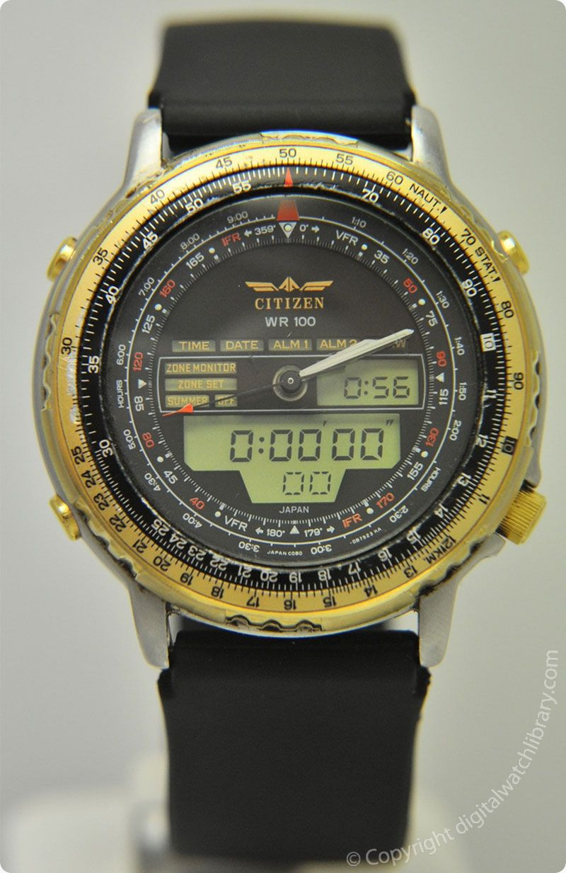 ec7e7580350 CITIZEN - JL6XX C080-Promaster WR100 New Wingman