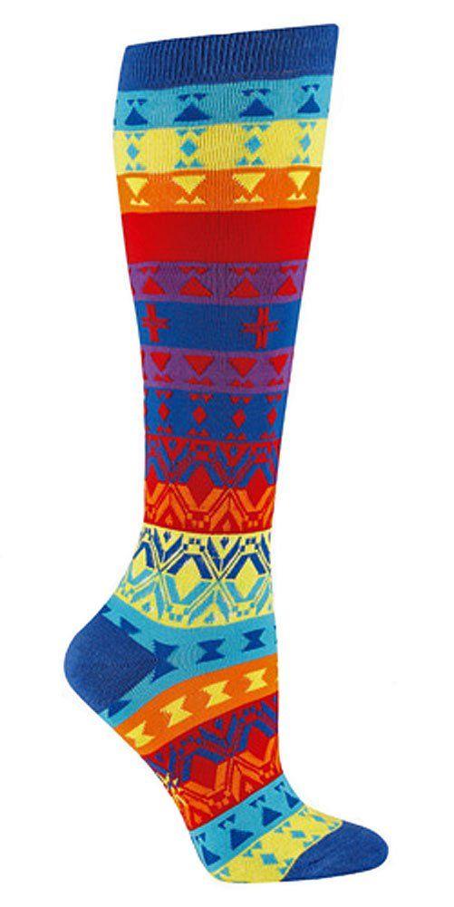 Sock It To Me KALEIDOSCOPE Womens Knee Socks