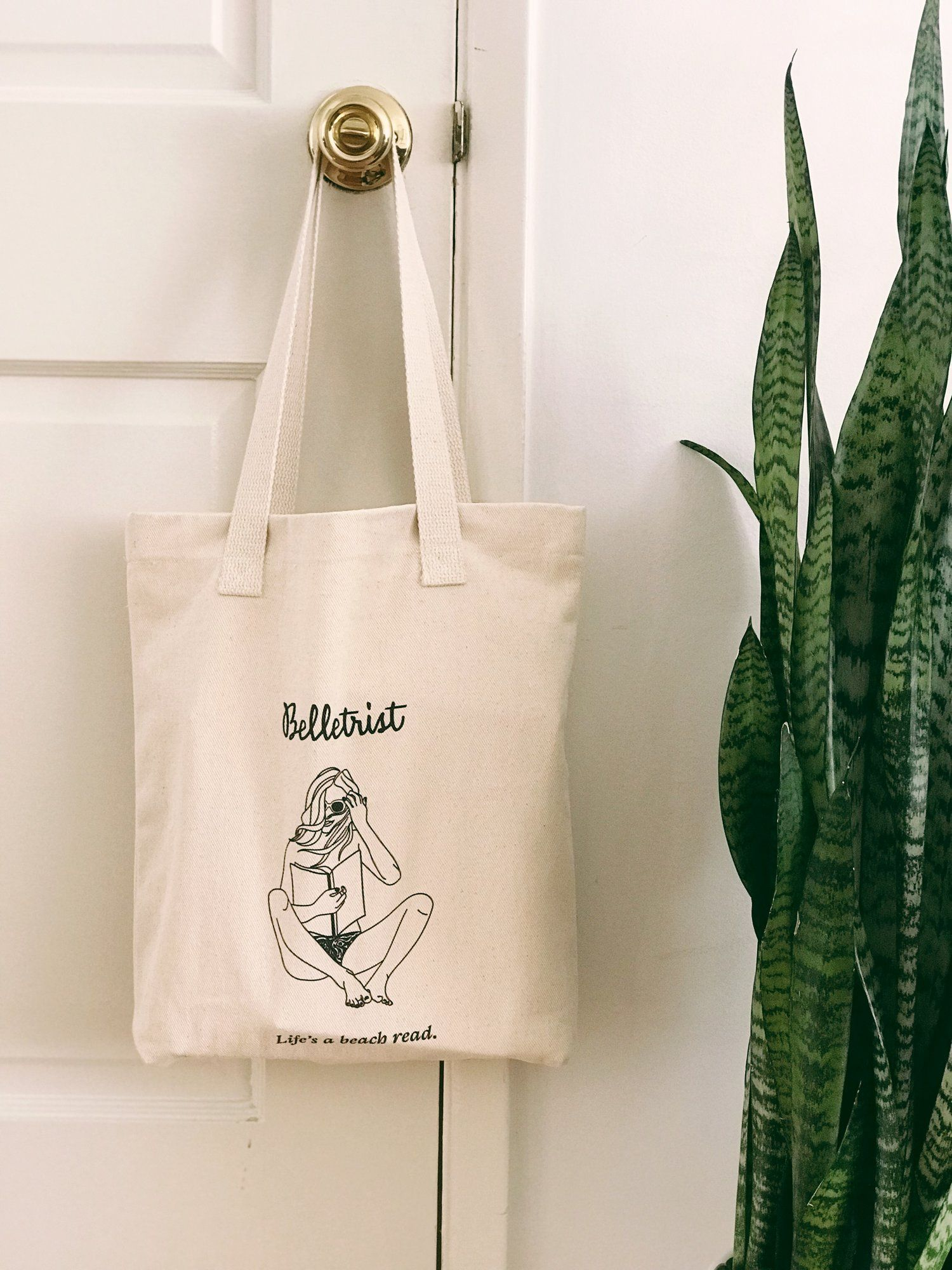 Bookish Tote Bags For Your Favorite Reads. Belletrist tote 02cbee2bef9de