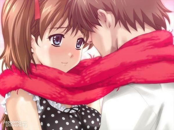 Cute Anime Couples Valentine Wallpapers Wallpaper