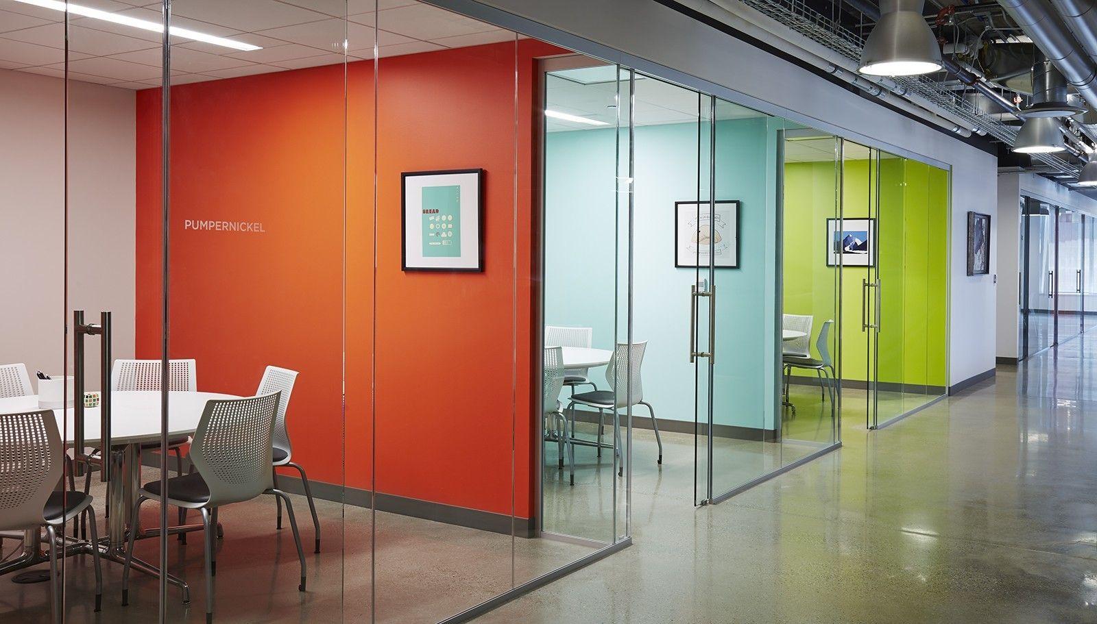 Inside Sandbox Industries New Chicago Office Commercial InteriorsCommercial DesignOffice