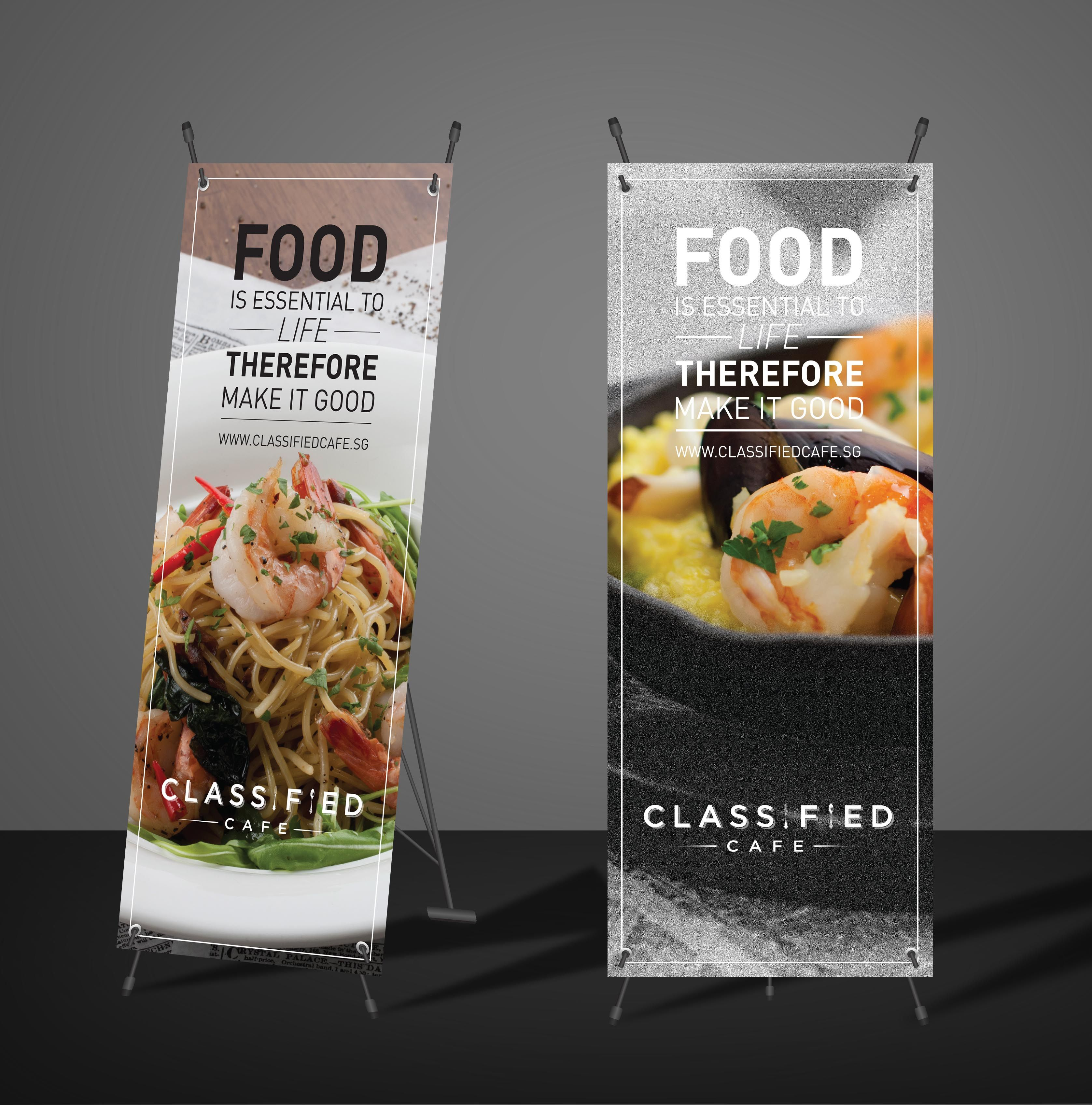 Restaurant banner classified cafe pinterest banners