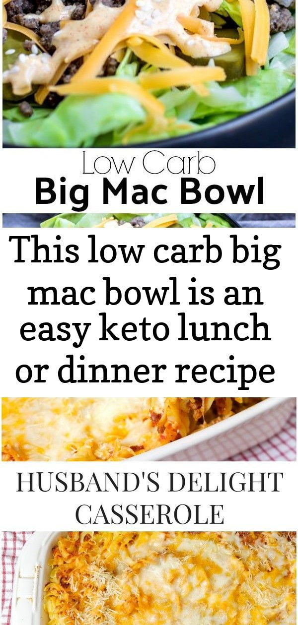 This low carb big mac bowl is an easy keto lunch or dinner recipe made with ground beef special s 9 This Low Carb Big Mac Bowl is an easy keto lunch or dinner recipe made...