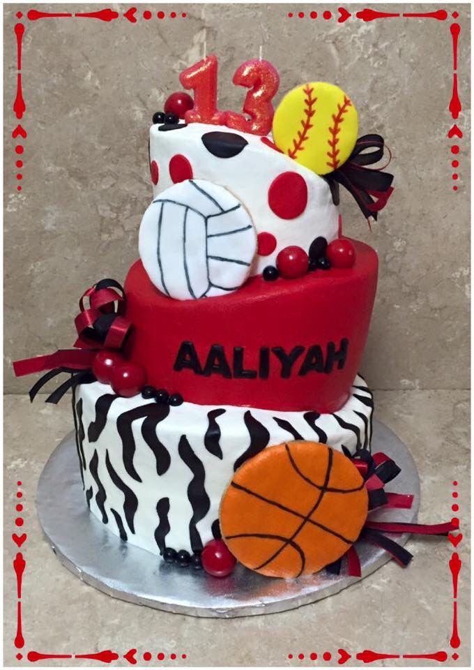 Sports Cakesketball Volleyball Softball My Cakes Bbs