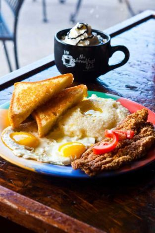 The Breakfast Klub Houston Katfish Grits Like A Boss Eat