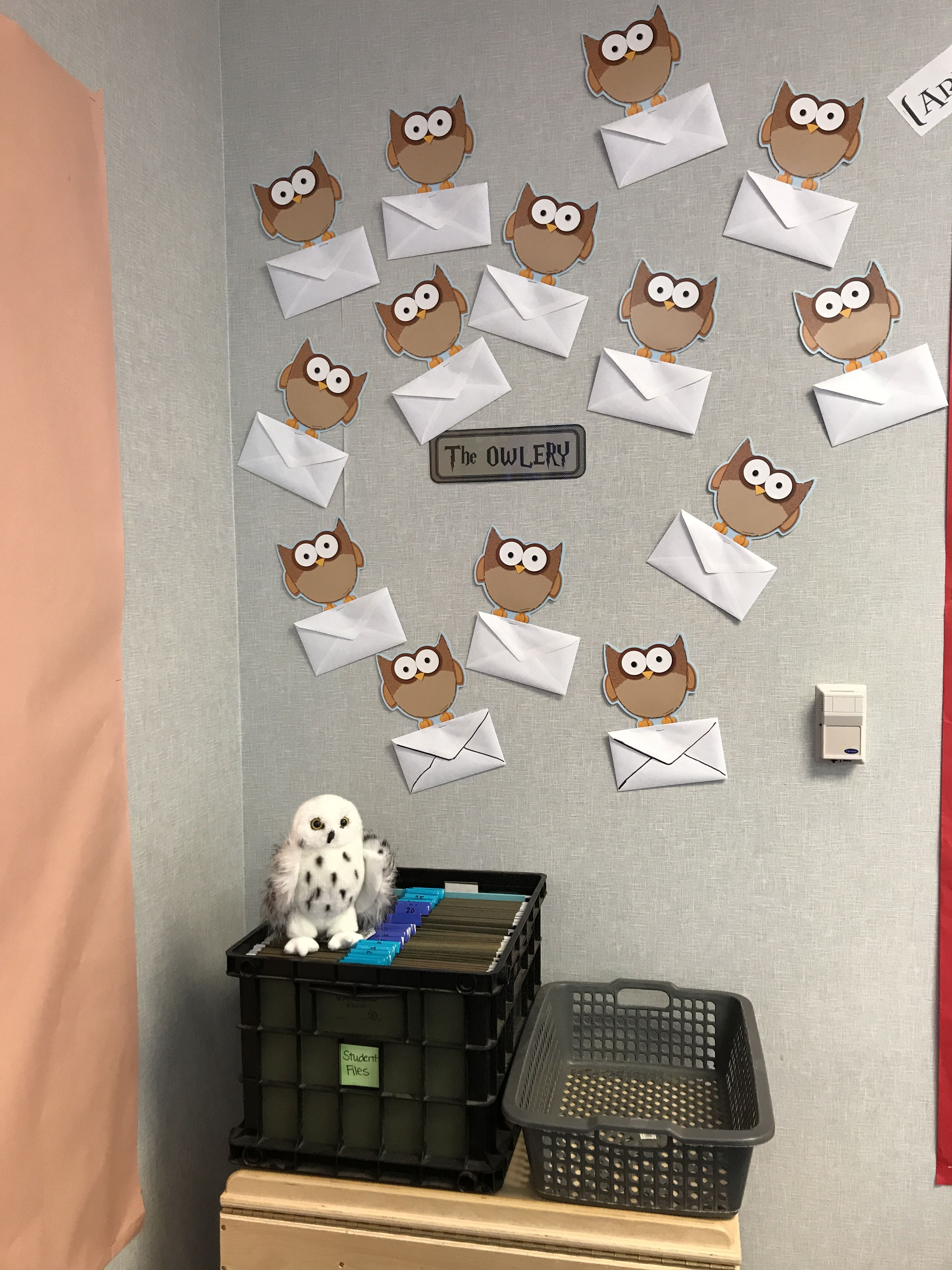 Harry Potter Owlery Classroom Mailbox I Like This Better Than The