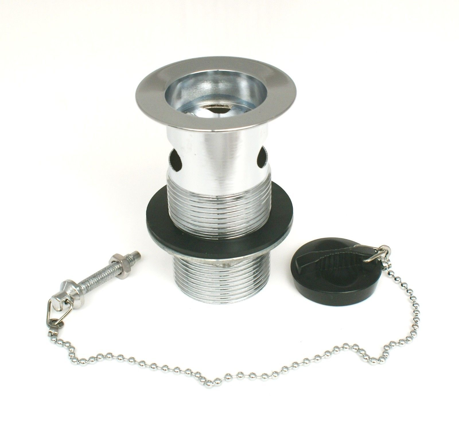Basin Waste Grating Plug u0026 Chain