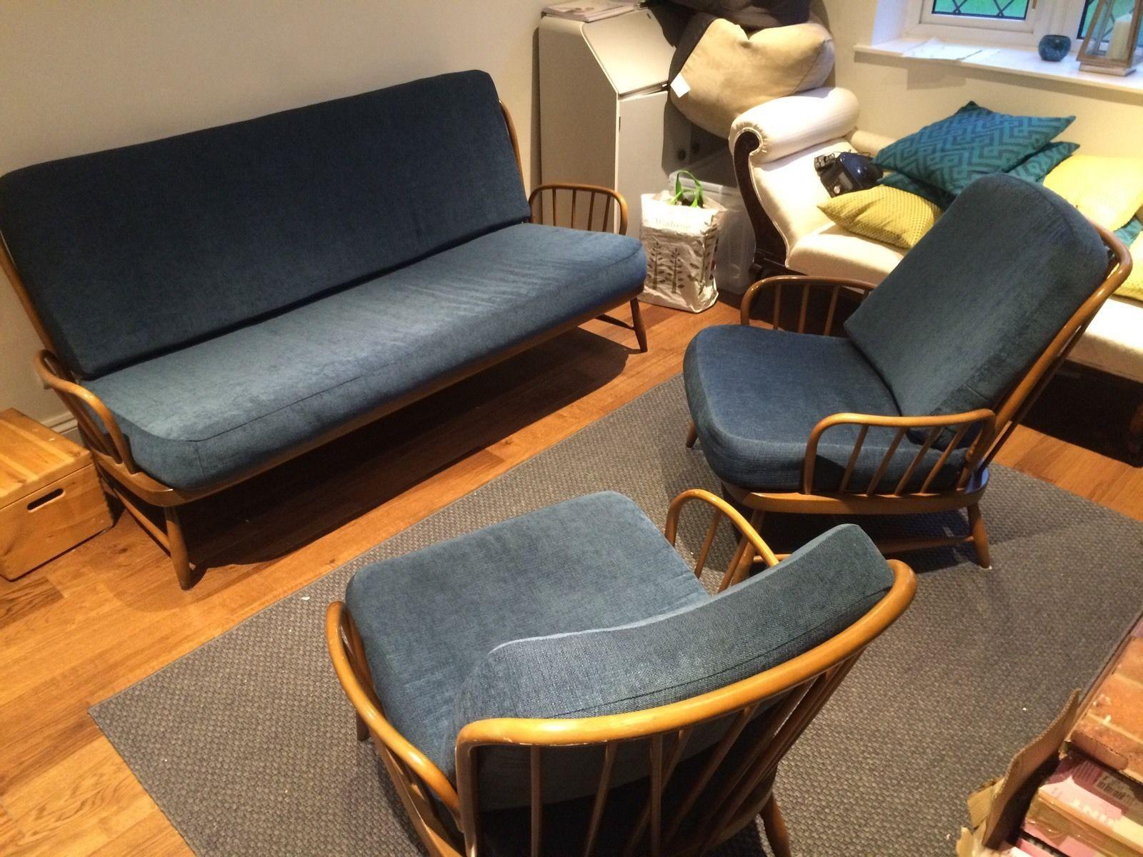 Best Ercol Jubilee 3 Piece Suite In Home Furniture Diy 640 x 480