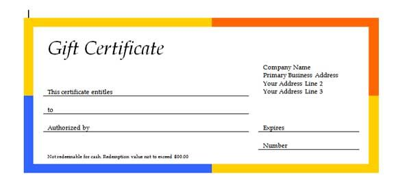 Gift certificate templates are created in ms office professional gift certificate templates are created in ms office professional format they are offered in real yadclub Image collections