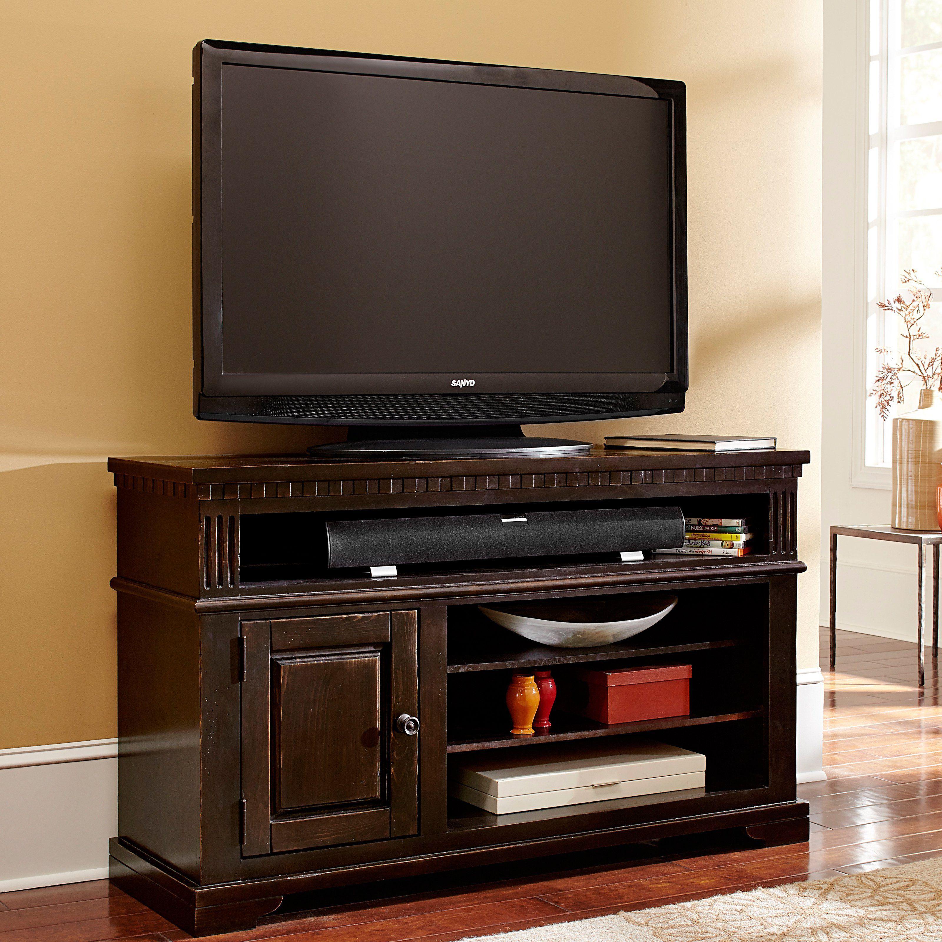 Progressive Furniture La Cantera Tv Console Tobacco