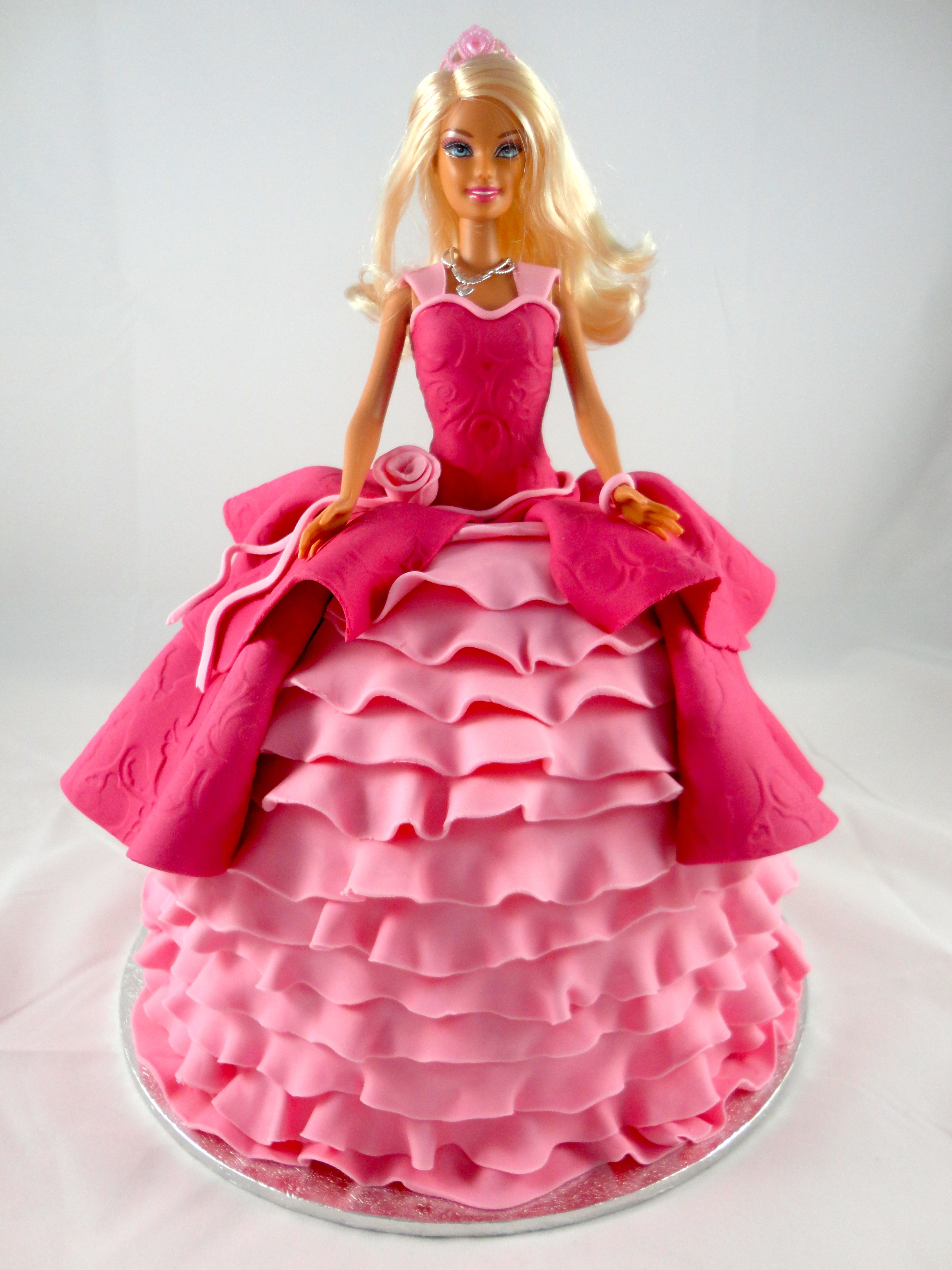 Doll Birthday Cake Cakes And Cupcakes For Kids Birthday Party - Birthday cake doll princess