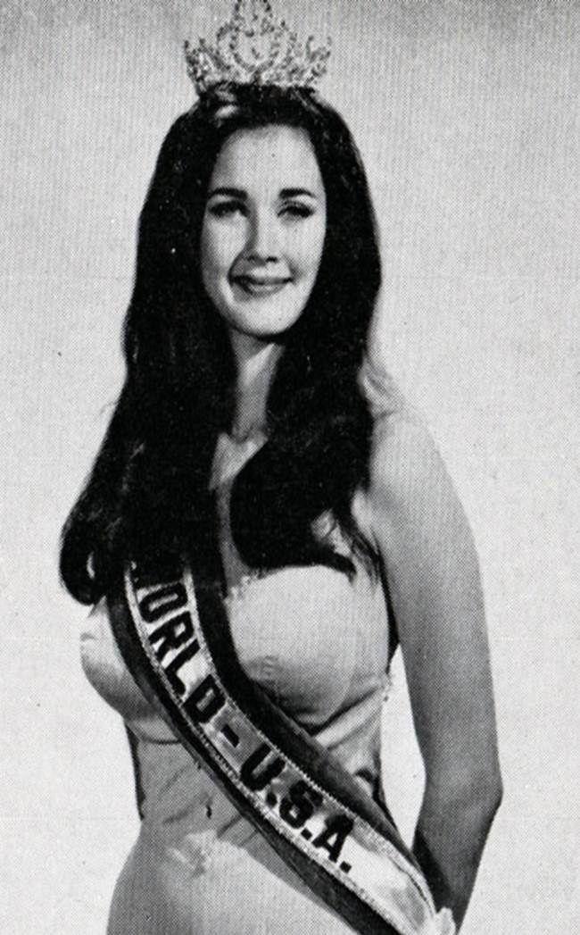 Lynda Carter: Miss World 1972 (USA)