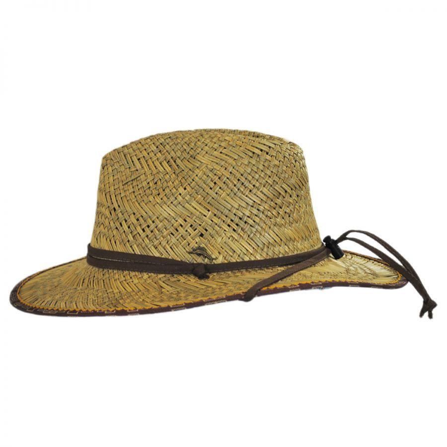 Tommy Bahama Straw Lifeguard Hat  3a7e10dc767
