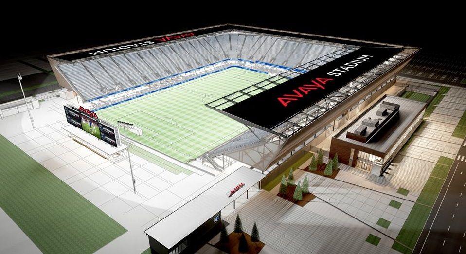 San Jose Earthquakes Fecha Acordo De Naming Rights Para Nova Arena San Jose Earthquakes Stadium San Jose