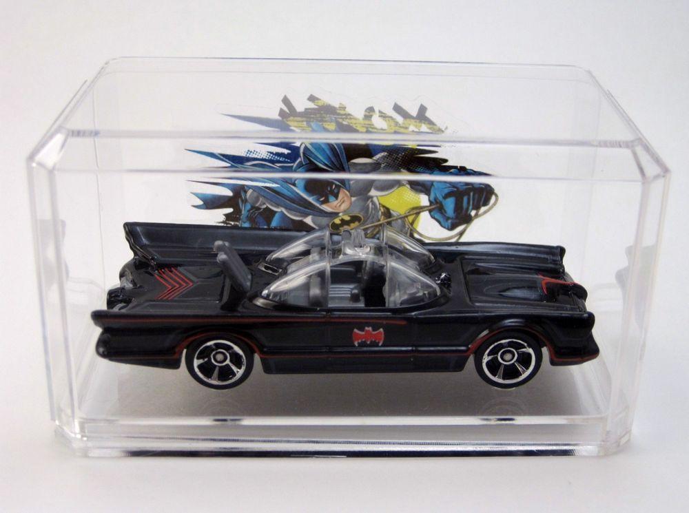 66 BATMOBILE Batman New Models Hand Made Gift HOT WHEELS w acrylic case   HotWheels  Ford 3851afd34f