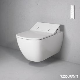 Duravit Happy D.2 Wand Tiefspül WC Rimless Mit SensoWash® Slim WC Sitz, Set  Weiß Mit WonderGliss | Badezimmer | Pinterest | Duravit