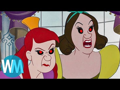 Top 10 F*%KED UP Origins Behind Disney Movies - YouTube