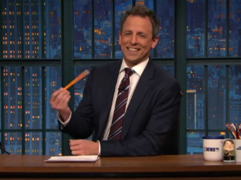 Seth Meyers Jokes: Watch 'Late Night' Host React After Failing To Incite Laughter [VIDEO]