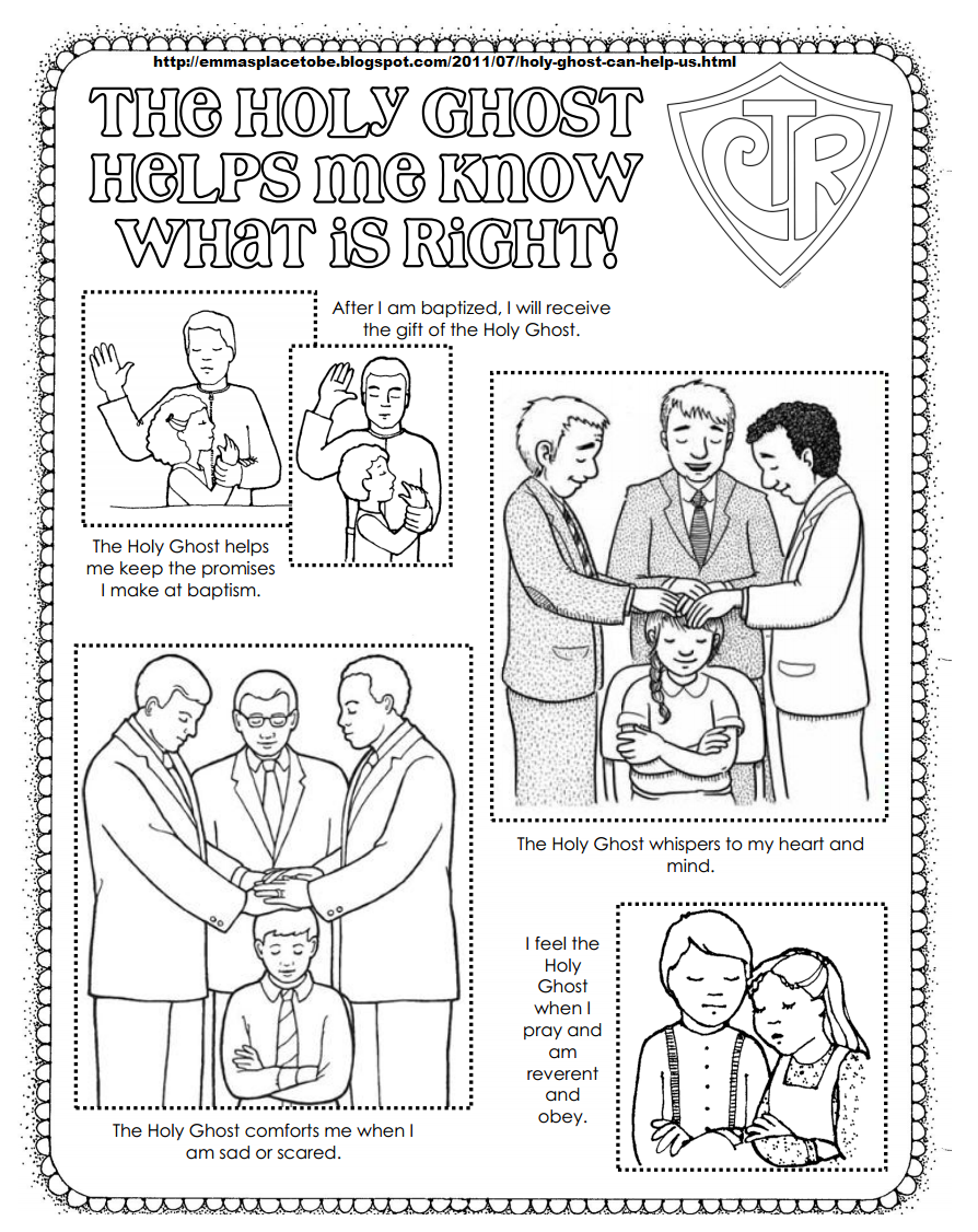 The Holy Ghost Helps Me Coloring Page From Http Emmasplacetobe Blogspot Com 2011 07 Holy Ghost Can Help Us Html Lds Coloring Pages Holy Ghost Lds Primary