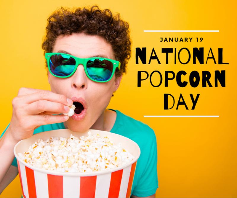 It's NationalPopcornDay!🍿 How do you like your popcorn