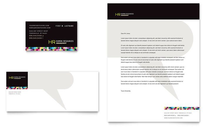 Click to download a full-size preview PDF Editorial  Stationary - free microsoft word letterhead templates