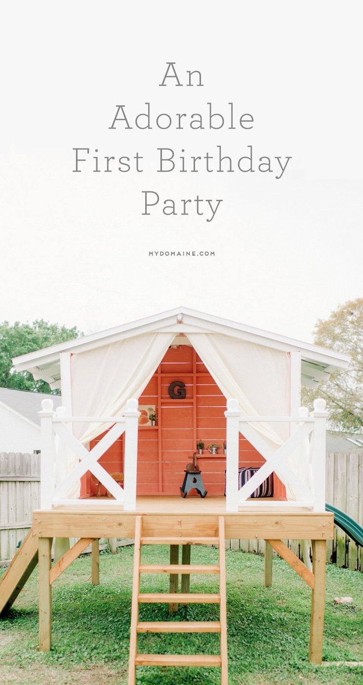 This May Be the Cutest First Birthday Party Ever | You ve, Birthdays ...