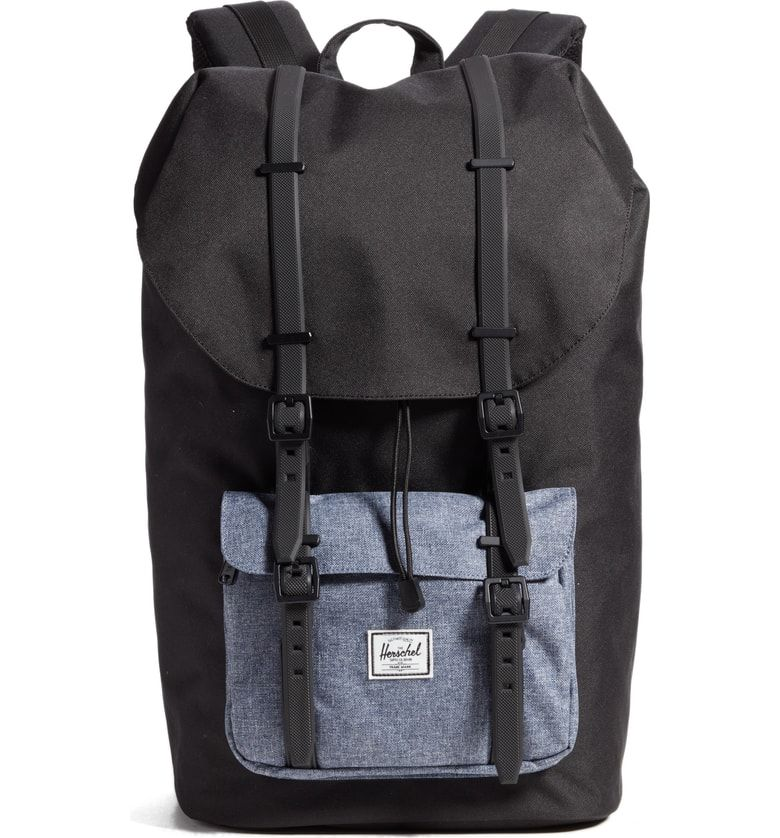 d214f14d90 Free shipping and returns on Herschel Supply Co. Little America - Chambray  Backpack at Nordstrom.com. Evocative of classic mountaineering bags