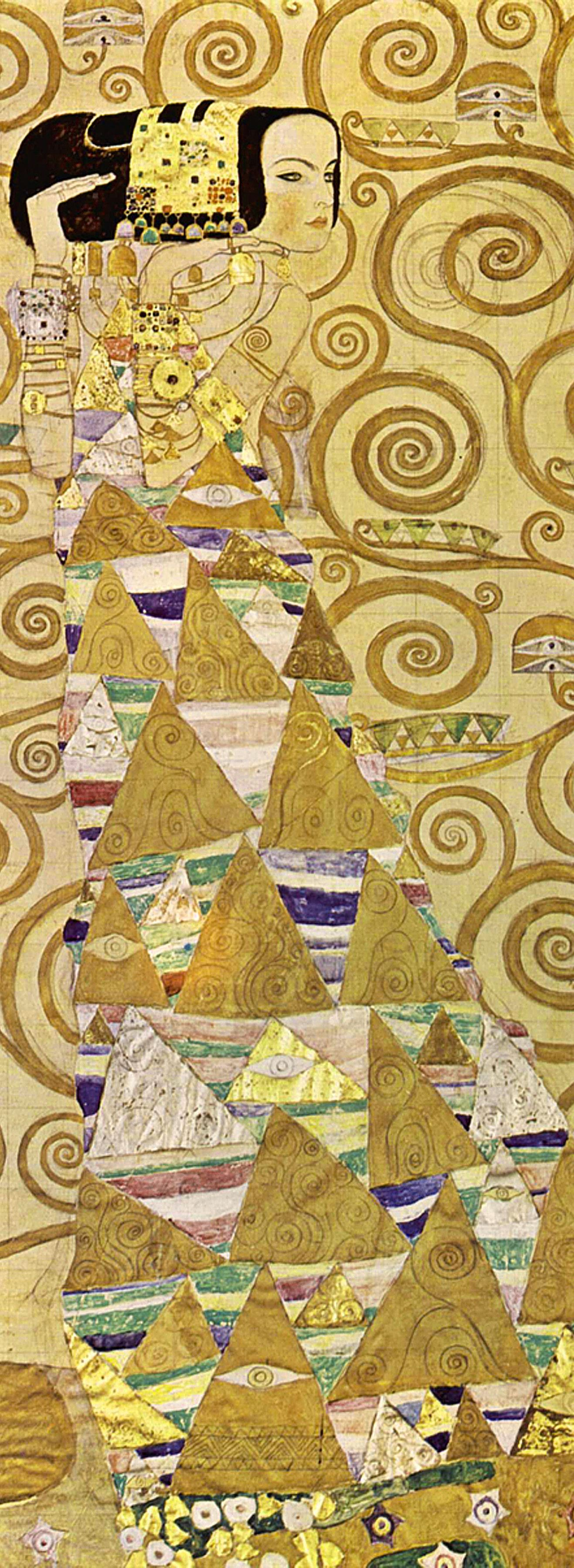 Gustav Klimt 'Expectation'