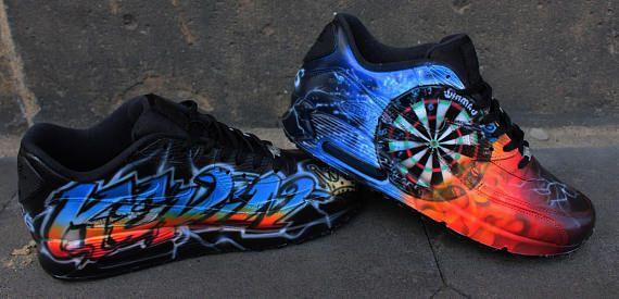 low priced 71c22 7aa42 Coutume peint Nike Air Max 90 Votre idée individuelle Art