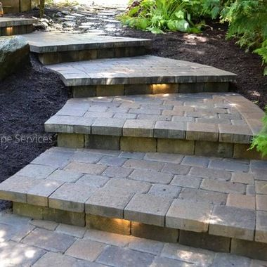 Hardscape Steps These Are Some Paver