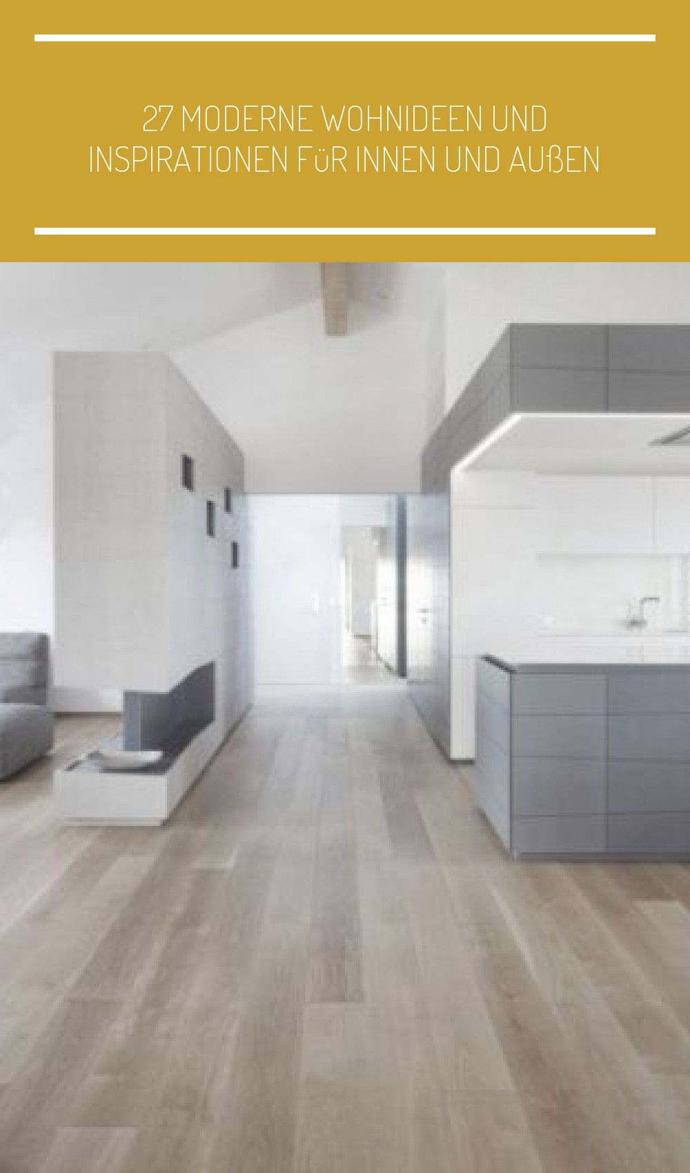 Offene Küche Und Wohnbereich In Hellgrau Und Weiß Wohn Esszimmer Doppelhaus 27 Moderne Wohnideen Und Inspirationen Für Innen Und Home Home Decor Motif Design